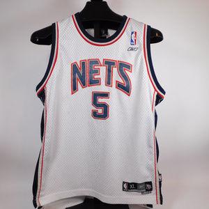 NBA Jersey NJ Nets #5 Kid XL CL1986 1019